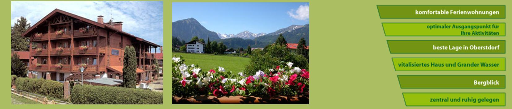 Ferienwohnungen Oberstdorf  Gästehaus zur Färbe